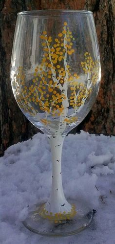 43 fantastic examples of wine glass with decoration