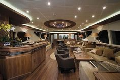 inside the Packers Yacht- Yacht belongs to James Packers, not the Green Bay Packers. Be careful when you pin something.
