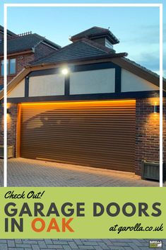 A Garage Shutter in Oak easily transform your garage's style. Because we have our garage doors prices fitted online, you can see how much your roller shutter garage door will cost before you buy. Roller Doors, Roller Shutters, Single Garage Door, Garage Doors Prices, Electric Rollers, Garage Extension, Door Quotes, Shutter Colors, Garage Door Installation