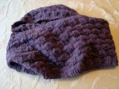 2013 Basket Weave Knitted Infinity Scarf