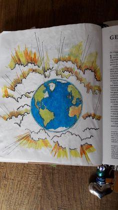In Het Begin Schiep God De Hemel En Aarde