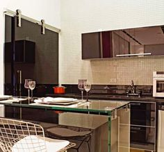 Cozinhas e lavanderias integradas - veja ideias para ambientes pequenos e apartamentos!