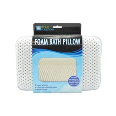 I found this amazing Textured Soft Foam Bath Pillow with Suction Cups at nomorerack.com for 60% off. Sign up now and receive 10 dollars off your first purchase