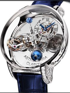 Jacob & Co arguably rebooted a trend for jewelery pieces among men by chiming with the hip hop community. The new crystal-cased Astronomia Clarity is a watch that might well point the way to a less-is-more future of haute joaillerie.