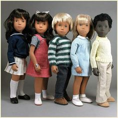 Sasha Dolls...they were big back in the very early 70's.