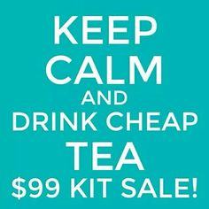 """Just under 2 hours left for this awesome sale.  Join now as this is a great value.  Go to www.mysteepedtea.com/whitney and click on the """"Join my Team"""" tab."""