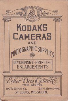 Kodak Camera Advertising