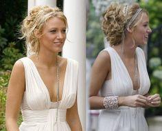 "Serena Van der Woodsen in the Gossip Girl episode ""Summer Kind of Wonderful"". Love the jewels in her hair!"
