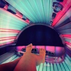 I miss it. Tanning, tan, tanning bed