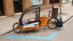 Parking cargo bike? Www.urbanciclo.es - Tw: @urbancicloalba- f: Urban Ciclo - Instagram: @urbanciclo #urbanciclo #ecomensajeria  #Albacete #cargobike #bicimensajeria #bikemessengers #bullitteer #bullitt #bullittlife #messlife #bikecourier #transportesostenible cargo bike