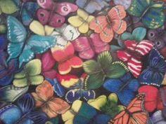 """""""Mariposas"""" 100 x 80 cms Óleo sobre tela 2010"""