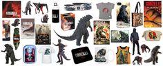 Godzilla 2014 merchandise