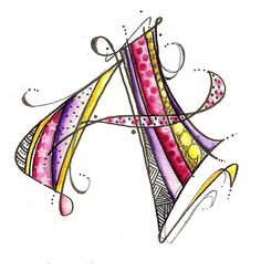 A-gypsy | Flickr - Photo Sharing! #zentangle #doodling