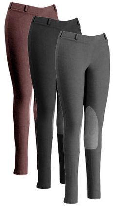 7050cceb07c0 Saddles Tack Horse Supplies - ChickSaddlery.com fOuganza By JPC Junior  Girls Pull-On Riding Breeches