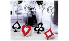 Marque place poker :  Mariage thème poker