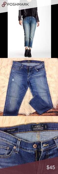 Lucky Brand Sienna Cigarette Jeans Size: 10/30. Brand: lucky brand. Medium wash. Great used condition gently worn. Lucky Brand Jeans Skinny