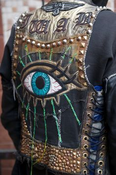 large embroidery details, jacket
