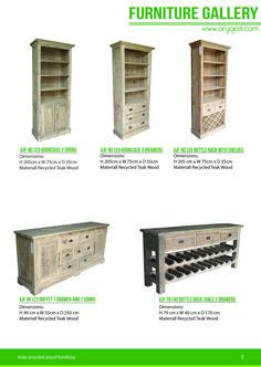 Teak Recycled Furniture