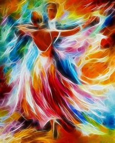 Beautiful colors! + reminder to dance more often...