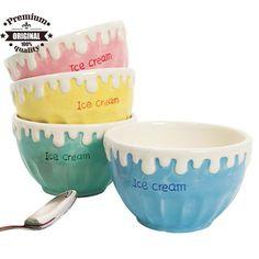 custom ceramic ice cream bowl $0.5~$3