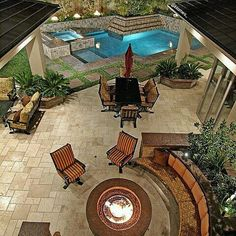 Love this backyard