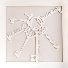 Personalised Home Paper Cut – Framed Paper Cutting, Scissors, Clock, Frame, Wall, Shopping, Decor, Watch, Picture Frame