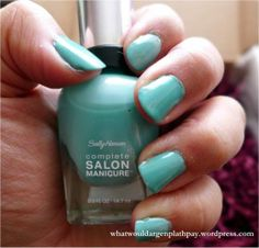 Sally Hansen Complete Salon Manicure Review - Jaded