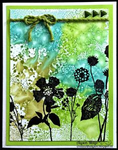 Create with Alyson: September Stamp of the Month Blog Hop - Paper Garden