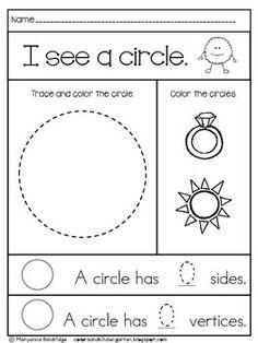My Kindergarten Shapes – Kindergarten Lesson Plans Kindergarten Lesson Plans, Kindergarten Shapes, Preschool Curriculum, Preschool Lessons, Kindergarten Worksheets, Kindergarten Classroom, Math Activities, Preschool Activities, Preschool Shapes