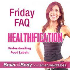 A 3-step food label cheat sheet... http://www.brainb4body.com/145-friday-faq-understanding-food-labels/