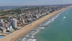 Lido di Jesolo, Venice, Italy - I used to spend my day off here at the beach with my friends