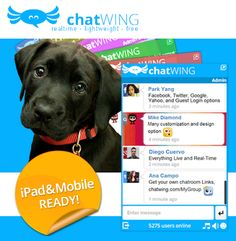 Like Chatting Online Then You Will love Chatwing! Social Media, Messages, Love, Website, Google, Cat Breeds, Amor, Social Networks