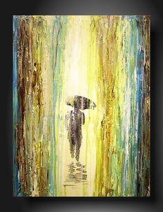 Art Painting Original JMJARTSTUDIO Original Painting 18 X 24 Inches--------Left Behind----------Textured