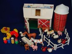 fisher price farm..Have a video of me getting this on x-mas :-)