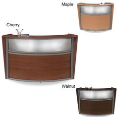 OFM Single Unit Reception Station with Plexi Glass Front - Overstock™ Shopping - The Best Prices on OFM Reception Desks