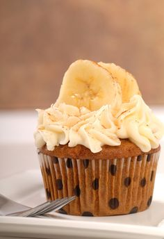Curious George birthday party idea: banana cupcakes for little monkeys