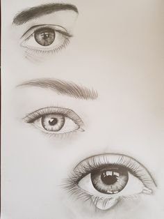 drawing eyes by Effie Iliopoulos