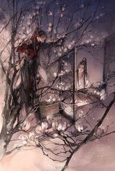 No dao zu shi ni Anime Guys, Manga Anime, Illustrations, Illustration Art, Fujoshi, Chinese Art, Japanese Art, Asian Art, Anime Characters