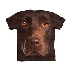 Chocolate Lab T-Shirt, 19€, now featured on Fab.