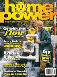Issue Feb/Mar Home Power Magazine Solar Electric System, Water Turbine, Turbine Engine, Solar Car, Water Powers, Le Moulin, Alternative Energy, Renewable Energy, Grid