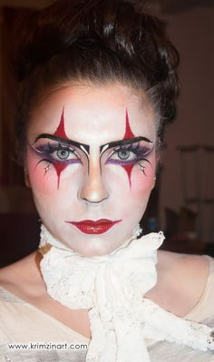 harlequin makeup | Here's the list of products I used for this look: