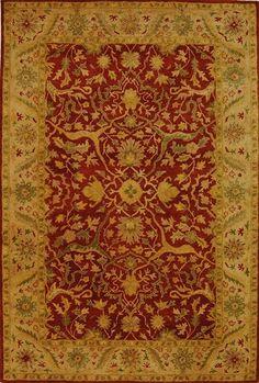 Rust Orange Antiquities Traditional Oriental Rug | On Sale at Floors USA | Safavieh No. AT14