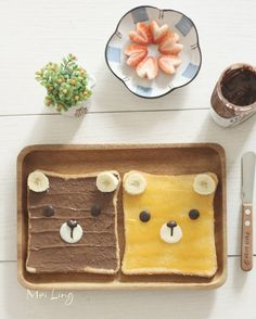 Teddy bear toast by meiling (@mei_ling22)