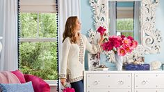 Tour Brooke Shield's colorful New York home — and learn her decorating secret
