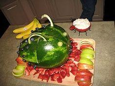 ladybug fruit basket