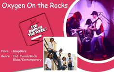 "WE ALL NEED SOME "" ‪#‎OXYGEN‬ ‪#‎ON‬ ‪#‎THE‬ ‪#‎ROCKS‬ "" :)  ‪#‎Localturnon‬ goes up close and personal with Oxygen On The Rocks - Ind. Fusion / Rock / Contemporary / Blues Band from Bangalore and understands why everyone needs a dose of Oxygen on the Rocks !! Read more on our ‪#‎LTO‬ ‪#‎BLOG‬  Book Oxygen On The Rocks at www.localturnon.com/bookings and we guarantee that you will want more of them & more & more !  ‪#‎Turn‬ #on ‪#‎Music‬ 