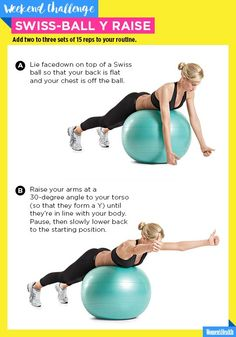 The Move That Will Bring Sexy Back…to Your Back  http://www.womenshealthmag.com/fitness/swiss-ball-y-raise-challenge