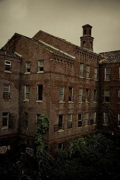 Insane Asylum abandoned but still beautiful