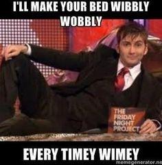 wibbly wobbly timey wimey stuff - Imgur