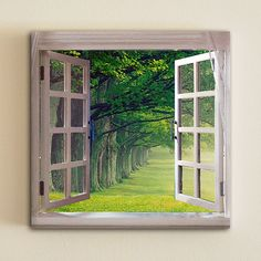 Image result for window canvas painting